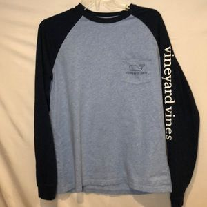 Vineyard Vines long sleeve Whale T-shirt. Size S.
